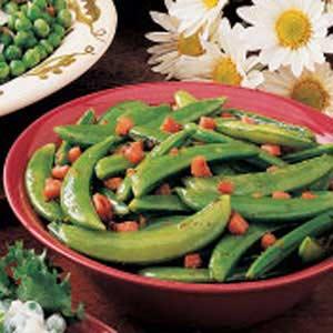 Flavorful Sugar Snap Peas Recipe