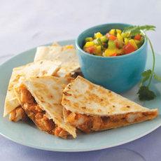 Barbecued Chicken Quesadillas Recipe