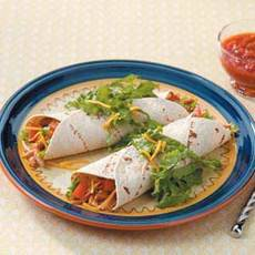 Chicken Soft Tacos Recipe