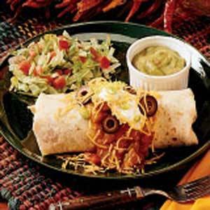 Southwestern Beef Burritos Recipe