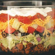 Tasty Layered Taco Salad Recipe