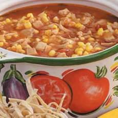 Spicy Chicken Tomato Soup Recipe