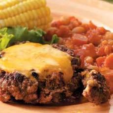 Southwestern Skillet Burgers Recipe