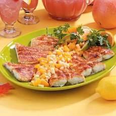 Cajun Catfish with Fruit Salsa Recipe