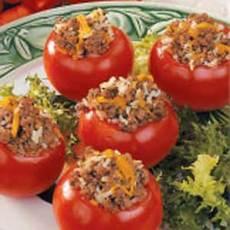 Beefy Tomatoes Recipe