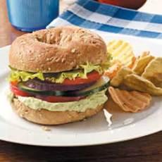 Zesty Garlic-Avocado Sandwiches Recipe