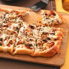 Black-and-Blue Pizzas Recipe