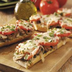 Tomato Baguette Pizza Recipe