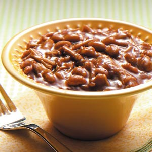 Slow-Cooked Pork and Beans Recipe