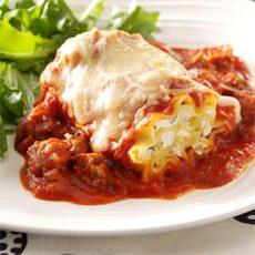 Sausage Lasagna Rolls Recipe