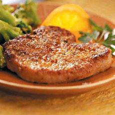 Crispy Herb-Coated Pork Chops Recipe