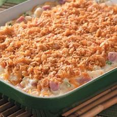 Crunch Top Ham and Potato Casserole Recipe