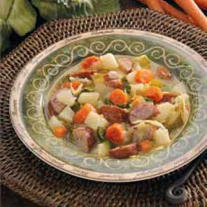 Kielbasa Cabbage Soup Recipe