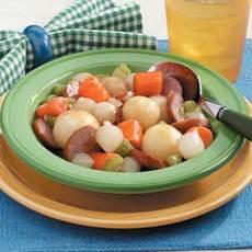 Kielbasa with Veggies Recipe