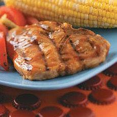 Pork Chops with Glaze Recipe