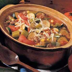 Tomato Zucchini Stew Recipe