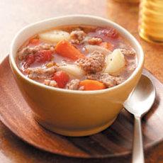 Turnip Sausage Stew Recipe