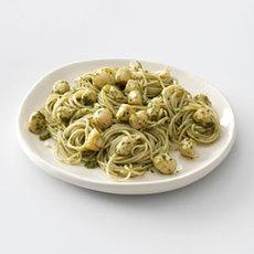 Pesto Vermicelli with Scallops Recipe