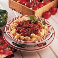 Pasta Shells and Peppers Recipe