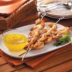Cajun Shrimp Skewers Recipe