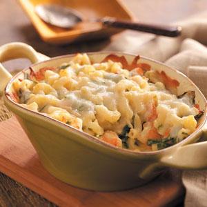 Shrimp & Macaroni Casserole Recipe