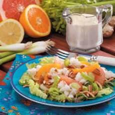 Orange Crab Salad Recipe