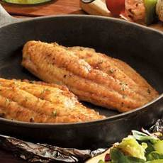 Skillet-Grilled Catfish Recipe