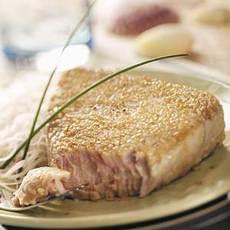 Sesame Tuna Steaks Recipe