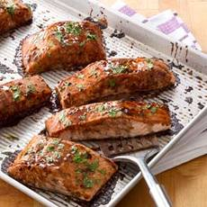 Salmon with Balsamic-Honey Glaze Recipe