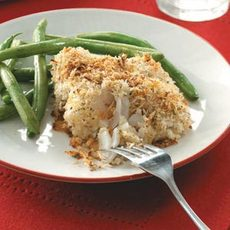Crumb-Coated Cod Fillets Recipe