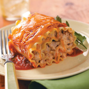Favorite Lasagna Roll Ups Recipe