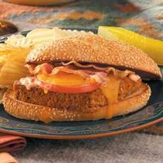 Cheeseburger Meat Loaf Hoagies Recipe