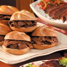Beef Brisket on Buns Recipe