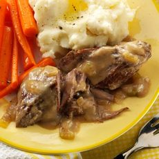 Swiss Steak Slow Cooker Recipe