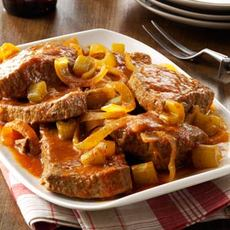 Slow-Cooked Swiss Steak Recipe