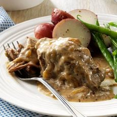 Slow-Cooked Round Steak Recipe