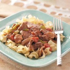 Smothered Round Steak Recipe