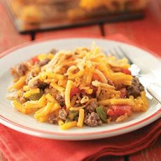 Hearty Macaroni Casserole Recipe