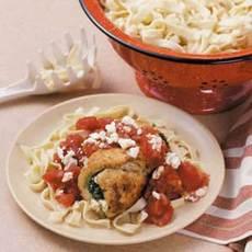 Spinach-Feta Stuffed Chicken Recipe