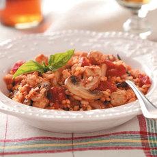 Chicken & Tomato Risotto Recipe