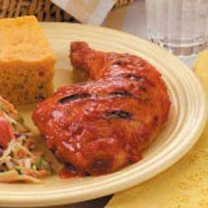 Favorite Barbecued Chicken Recipe