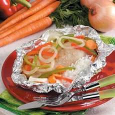 Veggie Chicken Packet Recipe