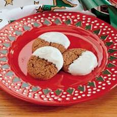 Dipped Gingersnaps Recipe