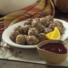 Meatballs with Cranberry Sauce Recipe