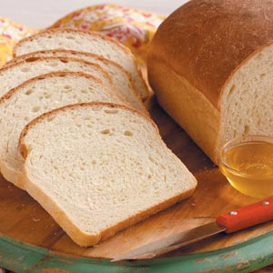 Honey White Loaves Recipe