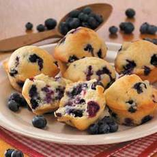 Old-Fashioned Blueberry Muffins Recipe