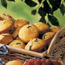 Blueberry Cornmeal Muffins Recipe