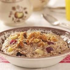 Warm 'n' Fruity Breakfast Cereal Recipe