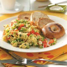 Vegetable Scrambled Eggs Recipe