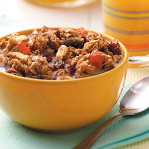 Fruit 'n' Nut Granola Recipe